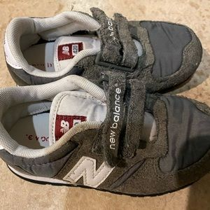 Toddler Boys Gray New Balance Sneakers